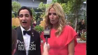 Red Carpet Interview: Zac Posen & Heidi Klum @Primetime Emmys 2014 - EMMYTVLEGENDS.ORG