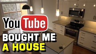 YOUTUBE BOUGHT ME A HOUSE! NEW HOME TOUR!!
