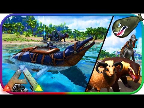 Ark: Survival Evolved | Update 254 Purlovia, Baryonyx, Basilosaurus, Ovis, Hair (Ark News & Updates)