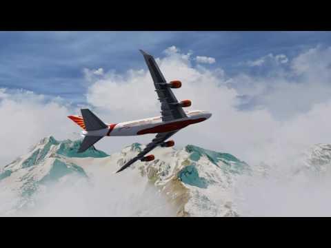 Air India 747-400 crashed at Nepal
