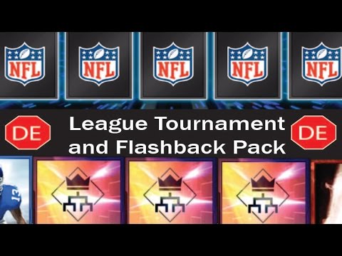 MADDEN MOBILE 16 League Achievements and League Tournament/Flashback Pack Openings!