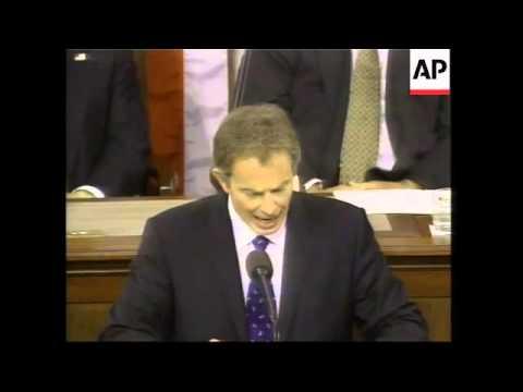 GNS British PM addresses US Congress