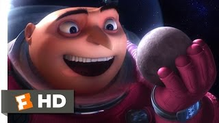 Despicable Me (11/11) Movie CLIP - Gru Shrinks the Moon (2010) HD