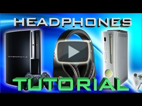 How to use Headphones on PS3 or Xbox 360