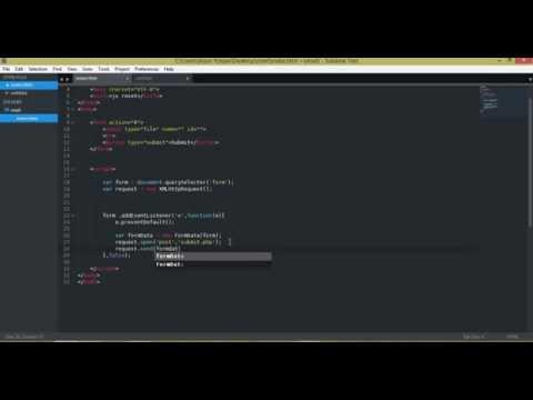 javascript   Input type file empty value after validation  fix   use AJAX 720p