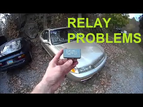Accord doesn't start - Main Fuel Pump Relay Replacement and Location - Honda Acura No Start RZ-0088
