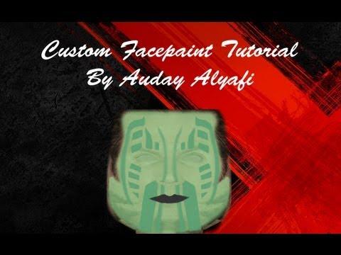WWE'13 Tutorials: How To Make A Custom Facepaint