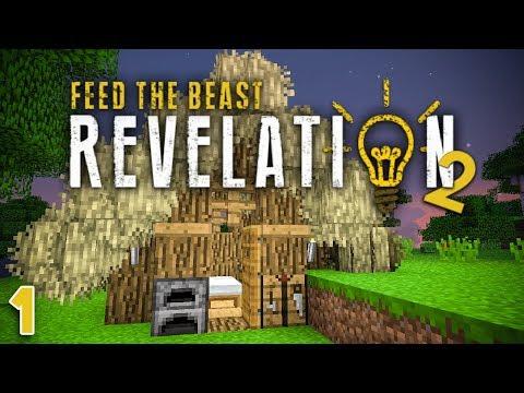 NEW FTB Revelation 2 EP1 Patreon Server Starting Day,GAP3I