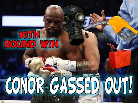 Floyd Mayweather Wins With A TKO Over Conor McGregor In The 10TH Round (Conor Gassed Out)