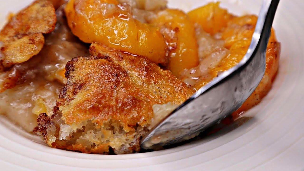 Peach Cobbler   Peach Cobbler Recipe #Soulfoodsaturday