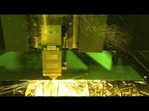 2kW Fiber Laser Cutting 1/16