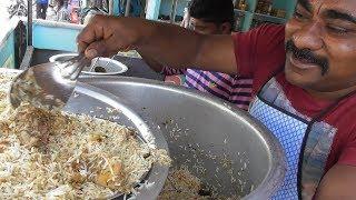 Pure Peanut Oil Chicken Biryani - Full @ 70 rs & Half 50 rs - Street Food India ( Yavatmal )