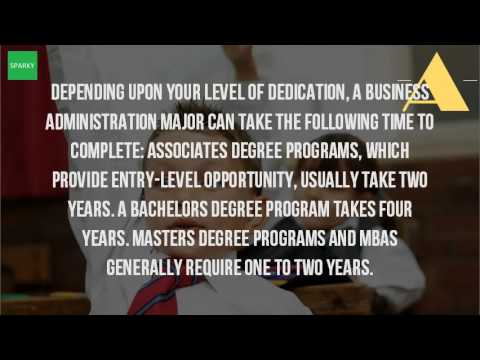 How Long Does It Take To Get A Bachelors Degree In Business Management?