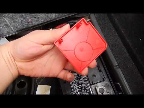 How to Change a battery on a 2013 dodge challenger