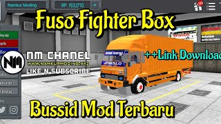 4 MOD BUSSID FUSO FIGHTER TRONTON BY WSP MOD FREE DOWNLOAD!