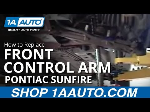 How To Install Replace Front Control Arm Pontiac Sunfire Chevy Cavalier 1AAuto.com