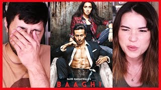 BAAGHI 1 (not Baaghi 2 - that is a separate video) | Trailer Reaction