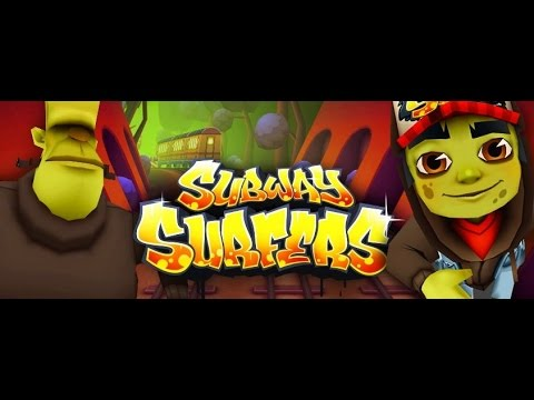 Subway Surfers (New Orleans (2) 2014) HIGH SCORE over 30,000,000 (haloween edition)