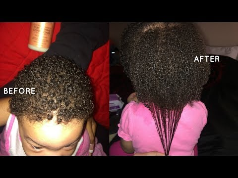 How To Grow Kids Natural Hair FAST + Easy Hair Routine For Growth