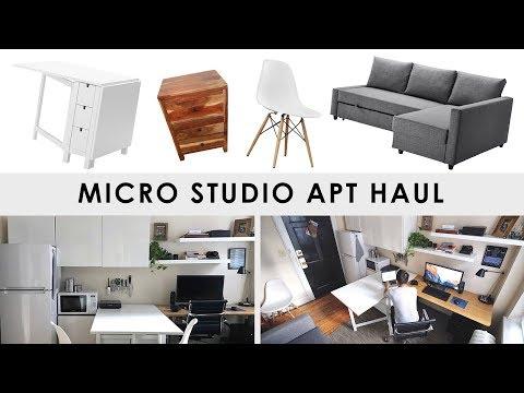 Micro Studio Apartment Haul (240 sq. ft.)