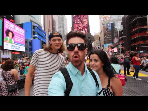 TIME SQUARE SUCKED | New York Vlog