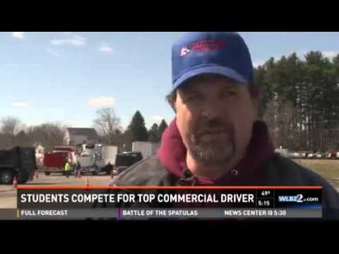 Maine High School Students Compete in Future Truckers Championship