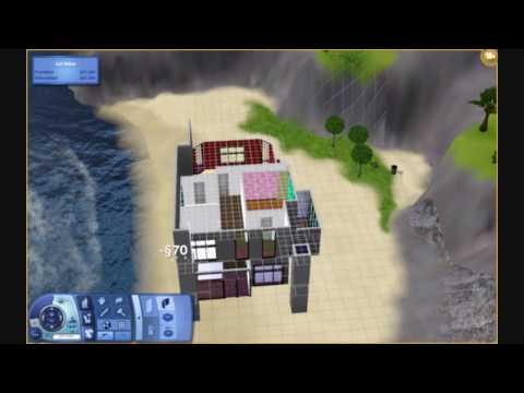 The Sims 3 - Modern Beach House Tutorial