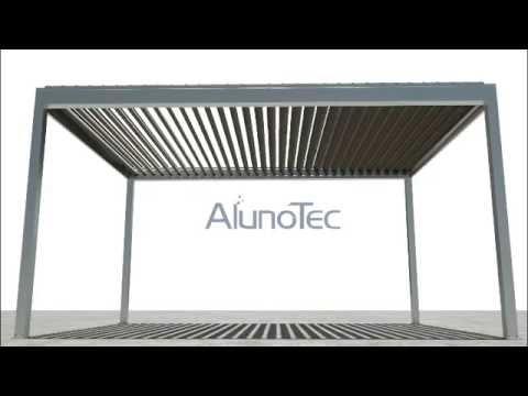 Motorised Louver Roof Aluminum Pergolux System