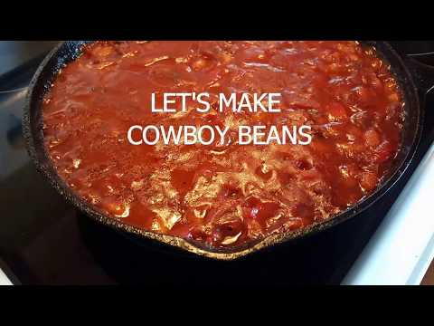 HEY THERE BUCKAROO...LET'S MAKE SOME COWBOY BEANS