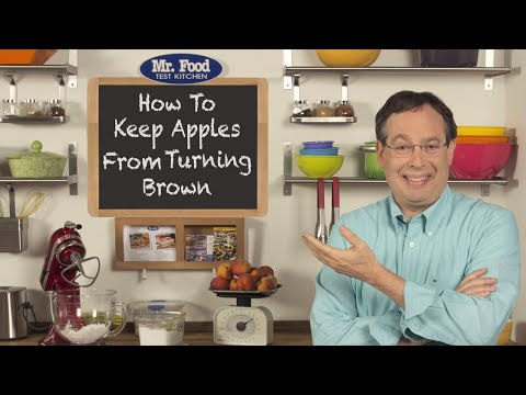 How To Keep Apples From Turning Brown
