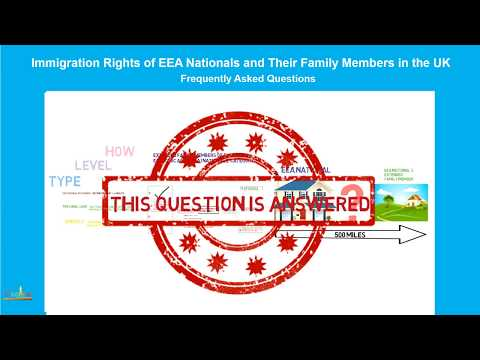 Extended Family Members of EEA Nationals who Require the Personal Care of the EEA National (2 of 4)