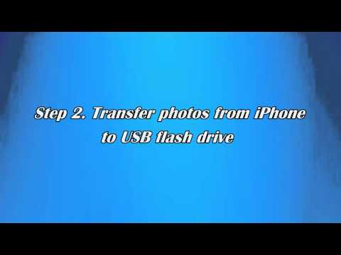 How to Transfer Pictures from iPhone to Flash Drive