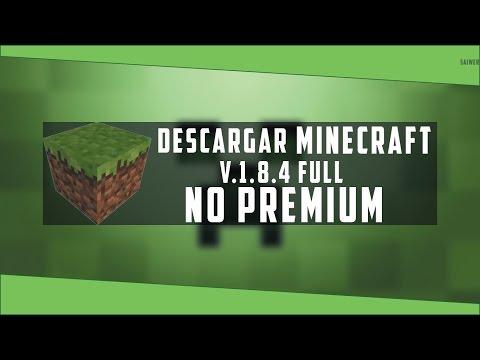 Descargar Minecraft V1.8.4 Actualizable PC// Español// 2015//HD