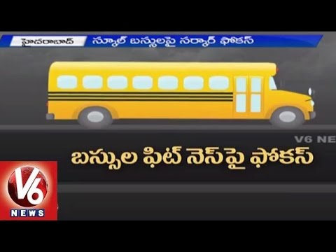 RTA action plan to impose strict rules on private school bus without fitness (21-05-2015)
