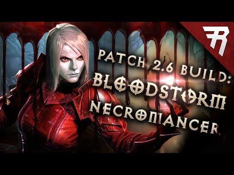Diablo 3 2.6.1 Necromancer Build: BLOODstorm Trag'Oul GR 119+ (Guide, Season 13)
