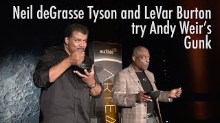 LeVar Burton and Neil deGrasse Tyson Eat Andy Weir