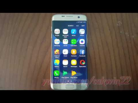 Samsung Galaxy S7 Edge : How to Set Flash Camera (Android Marshmallow)