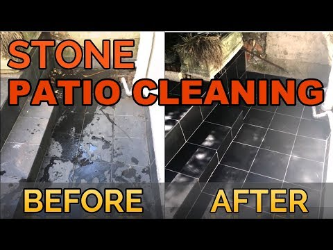 Stone Patio Cleaning - Patio Sealing and Slate Patio Restoration in Brighton and Hove in East Sussex