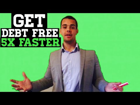 How To Get DEBT FREE (Fast)