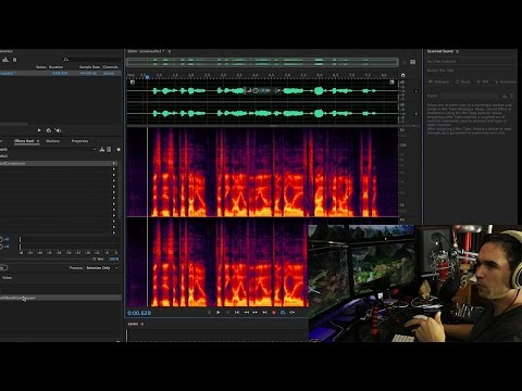 Instantly make your videos sound better (Adobe Audition CC tutorial)