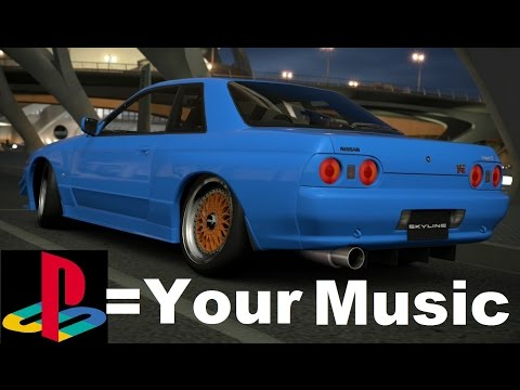 HOW TO PUT MUSIC ONTO YOUR PS3 + Set Custom Music On GT6.