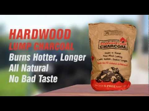 Hardwood Lump Charcoal Product Video