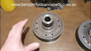 How to remove the clutch from your Mercedes M113k Supercharger E55 SL55 CLS55 AMG Kompressor