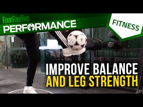 Gym workout | How to improve balance and leg strength | Soccer conditioning