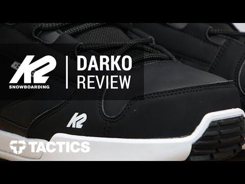 K2 Darko 2018 Snowboard Boot Review - Tactics.com