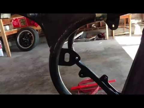 Honda CM400T Cafe Racer Build PART 3 - Frame Prep