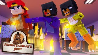 Minecraft Versus - FNAF BONNIE, CHICA AND FOXY FIGHT FOR SURVIVAL- modded mini gamne
