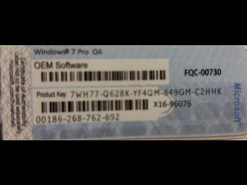 Activate Windows 7, Free Product Keys Win 7 Pro 32 64 BIT, Part 1