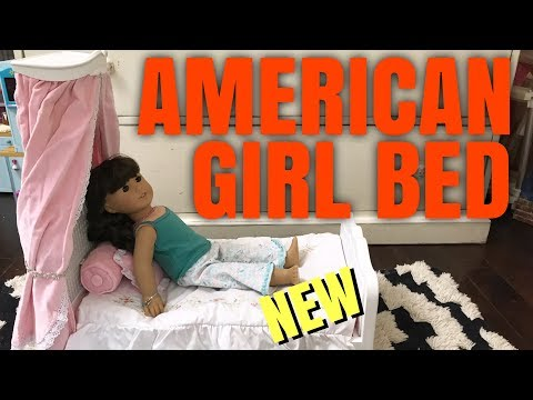 NEW American Girl Doll Canopy Bed