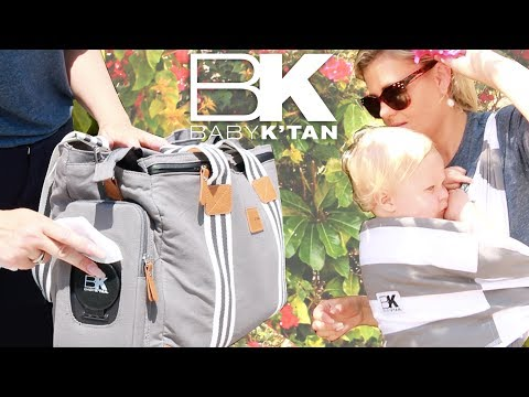 BABY K'TAN BABY CARRIER & THE WEEKENDER DIAPER BAG - Review